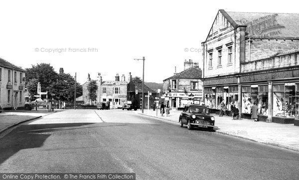 Greengates, Harrogate Road c1955