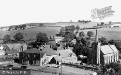 Greenhead, Greenhead Hotel, Church And Village c.1955