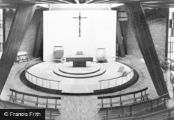 St Peter's Church, The Sanctuary c.1965, Greenhill