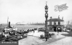 Greenock, Custom House Quay 1897