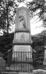 Greenock, Highland Mary's Memorial 1904
