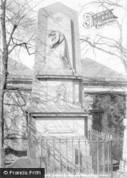 Greenock, Highland Mary's Monument 1899