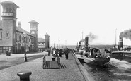 Greenock, Pier and Steamers 1897