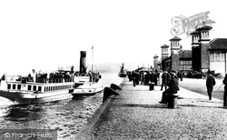 Greenock, Princes Pier 1904