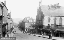 Greenock, South Parish Church And Ann Street 1904