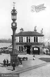 Greenock, The Booking Office 1897