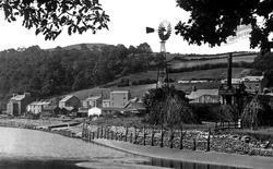 Village And Windmill 1921, Greenodd