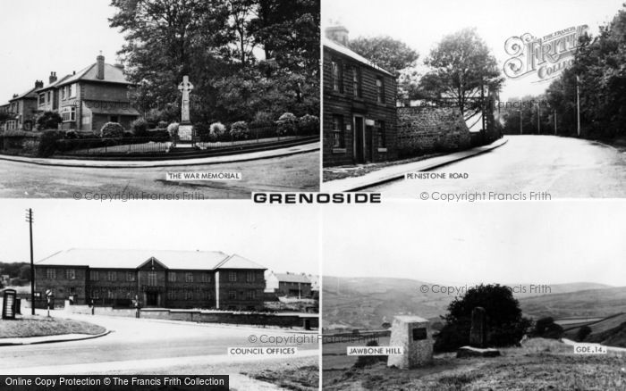 Photo of Grenoside, Composite c.1955
