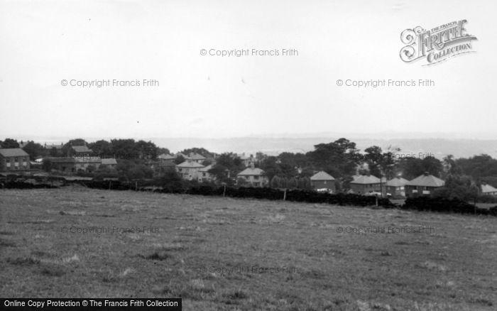 Photo of Grenoside, General View From Main Street c.1955