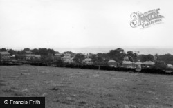 General View From Main Street c.1955, Grenoside