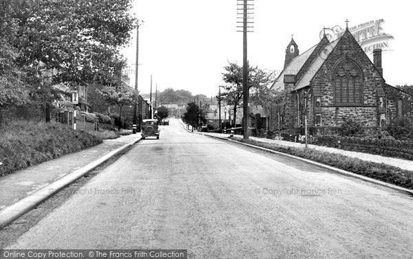 Photo of Grenoside, Main Street c.1955