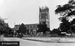 Gresford, All Saints' Church c.1955