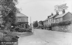 Gresford, High Street 1949