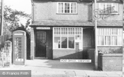 Gresford, Post Office c.1960