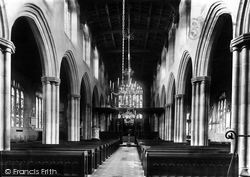 Gresford, The Church Interior 1895
