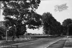 Gresford, The Cross Tree c.1955