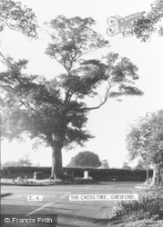 Gresford, The Cross Tree c.1960