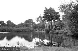 Gresford, The Lake c.1955