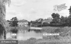 Gresford, The Lake c.1960