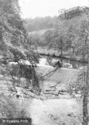 Gresford, The Waterfall 1957