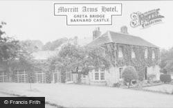 Morritt Arms Hotel c.1960, Greta Bridge