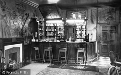 Greta Bridge, Morritt Arms Hotel, Dickens Bar c.1946