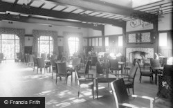 Greta Bridge, Morritt Arms Hotel, The Lounge c.1933