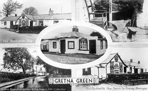 Photo of Gretna Green, Composite c.1940