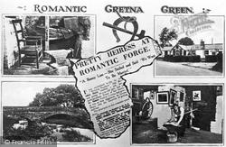 Gretna Green, Five View Composite c.1940