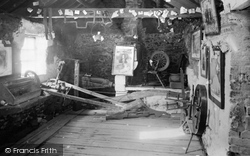 Gretna Green, Interior Of The Old Smithy c.1940