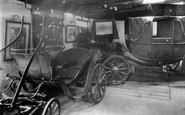 Gretna Green, interior of the Old Smithy c1940