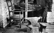 Gretna Green, Old Blacksmith's Shop interior c1955