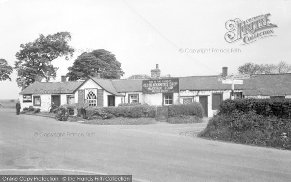 Photo of Gretna Green, Old Smithy c.1955