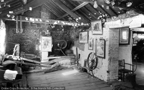 Gretna Green, Old Smithy interior c1955