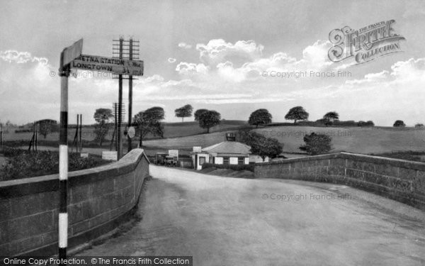 Photo of Gretna Green, Old Toll Bar, First House in Scotland c1940, ref. G163031
