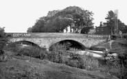 Gretna Green, Sark Bridge c1955