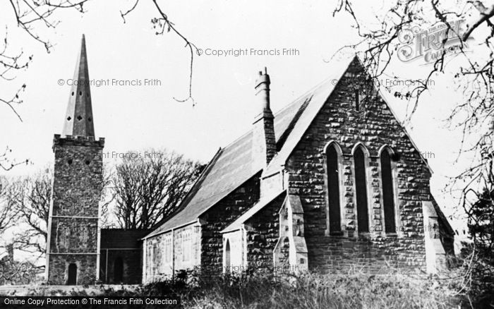 Photo of Greyabbey, St Saviour's Church c.1960