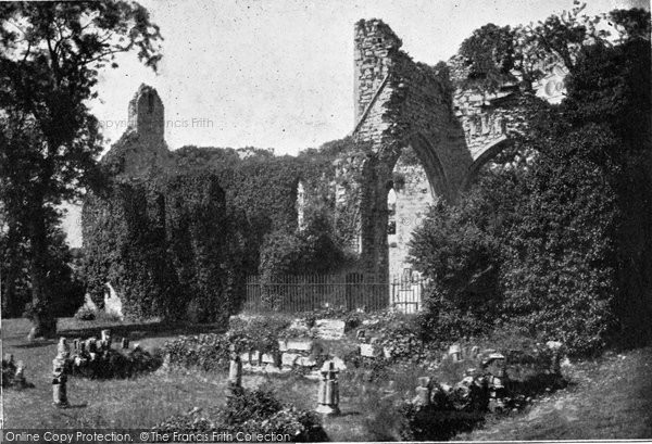 Photo of Greyabbey, The Ruins c.1900
