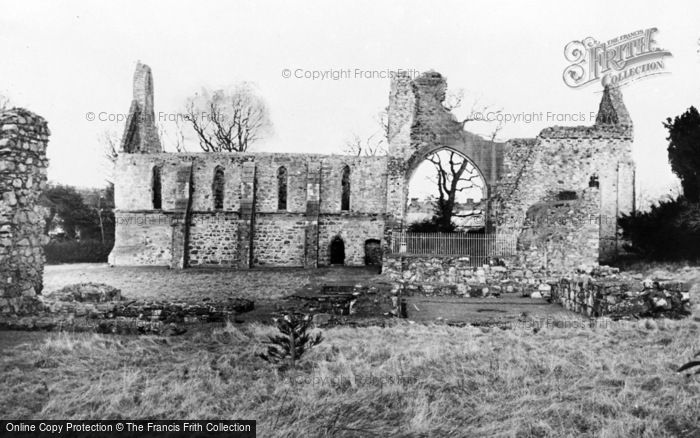 Photo of Greyabbey, The Ruins c.1960