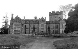 Greystoke, Castle c.1955