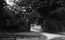 Greystoke, Castle Entrance c.1955