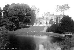 Castle From Lake 1893, Greystoke