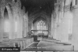 Church Interior 1893, Greystoke