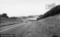 Greystoke, From Penrith Road c.1955