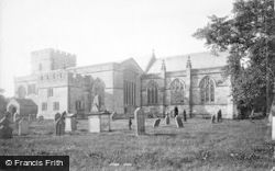 Greystoke, St Andrew's Church 1893
