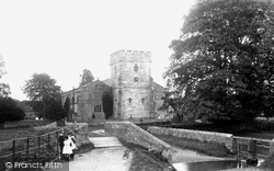 St Andrew's Church And Ford 1893, Greystoke