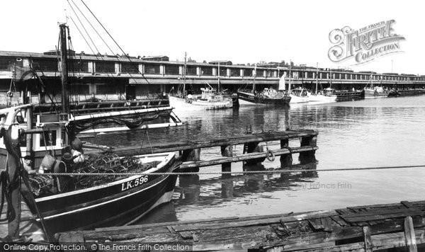 Grimsby, Fish Docks c1965