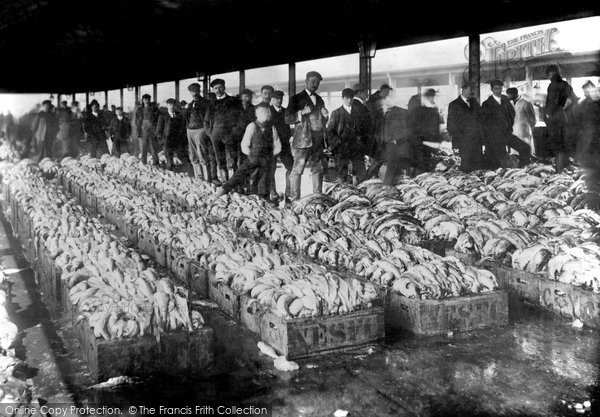 Grimsby, Fish Pontoon 1906