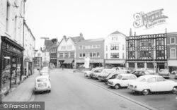 Grimsby, Market Place c.1965