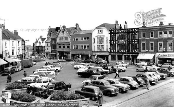 Grimsby, Old Market Place 1964